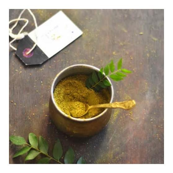 Homemade Karuveppillai Podi (Iyer's Recepie)